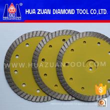 Small 105mm Diamond Turbo Saw Blade for Granite