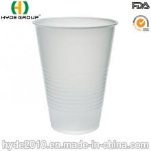 Tazas de cerveza plásticas disponibles blancas de los PP