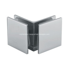 Square 90 Degree Glass to Glass Shower Clamp