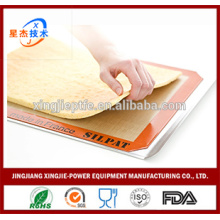 78.5cm * 58.5cm Estera de silicona para hornear Estera antiadherente de silicona resistente al calor