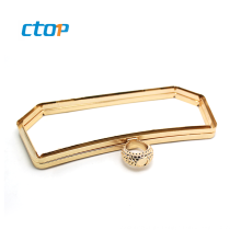 2020 new product factory cheap new style lock frame for bags clutch bag frames metal clasp for purse