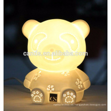 Cute Animal Ceramic Craft - Lámpara de mesa