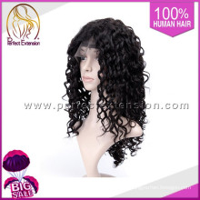 Chinese Yaki Bright Colors Hair Celebrity Style Front Lace Afro Curly Wigs