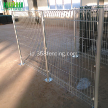 Rolled Top BRC Dilas Mesh Fence