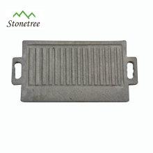 Rectangle Natural Lava Stone Barbecue Board