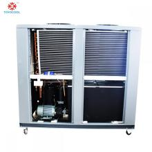 Refroidisseur d'eau refroidi par air installation de refroidissement industrielle