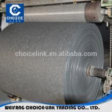 Retificação de membrana de betume não tecido tecido basemat composto