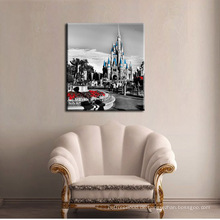 Berühmte Gebäude Leinwand Gemälde Druck Für Dekor