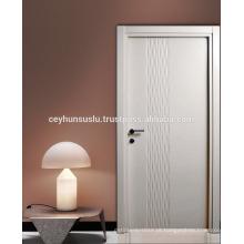 Porta Interior Lacada Novo Design Ondulado CNC superfície de roteamento