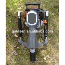 52mm Benzin Benzin Gas angetriebene elektrische Macht Handheld Star Picket Piling Driving Hammer Zaun Post Driver Machine