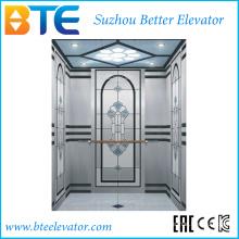 KC Хорошее оформление пассажирского лифта без машинного отделения