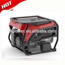 Generador de gasolina casero del generador de gas 5kw con el generador de gasolina del silenciador