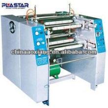 Rebobinador de película de doble sujeción automática y máquina de rebobinado de corte de lámina de aluminio