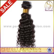 Качество продукции 18 дюймов перуанский волос полный кутикулы волос ткать
