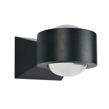 Black Ball LED - Lámpara de pared para exteriores
