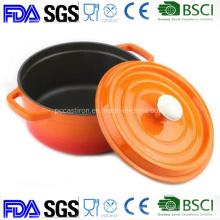 3.5qt Enamel Cast Iron Cookware Casserole Pot