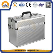Middle Aluminum Storage Travel Business Flight Pilot Case (HP-2101)