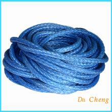 Bule Uhmwpe amarre las cuerdas de remolque