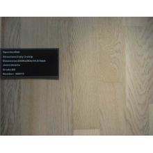 Revestimento de madeira Engineered de 125X18mm UV Handscraped
