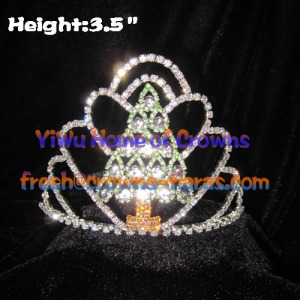 Tree Shaped Pageant Crown---Mini Christmas Tree
