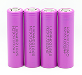 touch light flash Lithium Ion Rechargeable 18650 battery