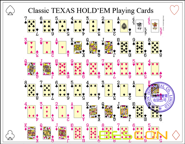 Classic TEXAS HOLDEM Playing Cards-4
