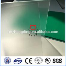 feuille de pc givré, feuille de polycarbonate pour tapis de fauteuil