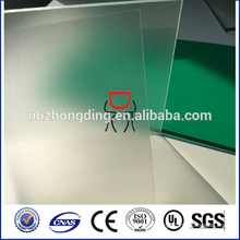 plastic frosted polycarbonate for construction materials