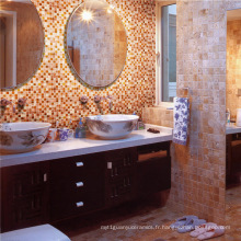 Salle de bain Salle de bain en céramique mosaïque en verre
