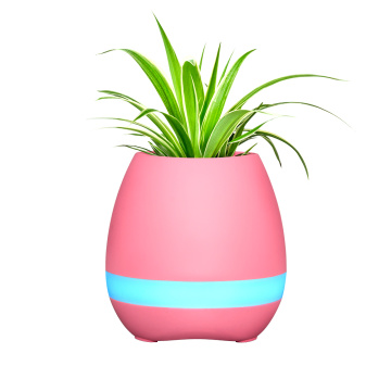 Speaker Flower Pot with Bluehat