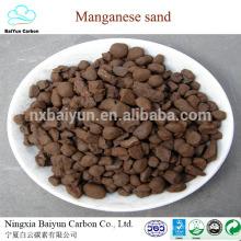 Fábrica de minério de manganês 2-4mm 35% ferro silico manganês areia