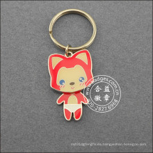 Little Fox Key Chain, llavero de dibujos animados (GZHY-KA-041)