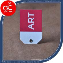 Tag de papel de arte especial personalizada / tag de pendurar com ilhó da profissão