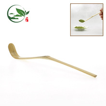 Wholesale Handmade Golden Bamboo Material Tea Scoop