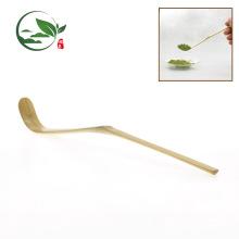 Wholesale Handmade Golden Bamboo Material Tea Scoop