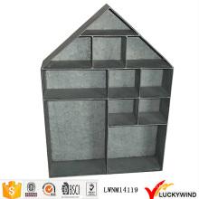 Винтажная промышленная металлическая висячая форма для дома