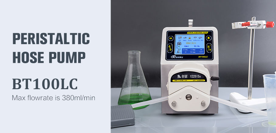 BT100LC peristaltic pump