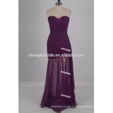 2017 Vestido más barato de la dama de honor de la nueva de la llegada del amor del diseño del amor del diseño bajo 50