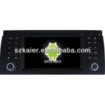 Android System Auto DVD-Player für BMW E39 mit GPS, Bluetooth, 3G, iPod, Spiele, Dual Zone, Lenkradsteuerung