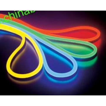 Luz de cuerda de neón LED flexible de 2 cables LED