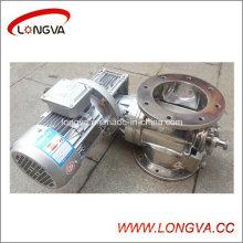 Válvula rotativa fácil de limpiar de acero inoxidable de alta calidad