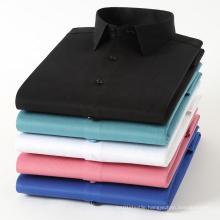 2021 New Men's Business Shirt Slim Bamboo Fiber Non-Ironing Anti-Wrinkle Frock