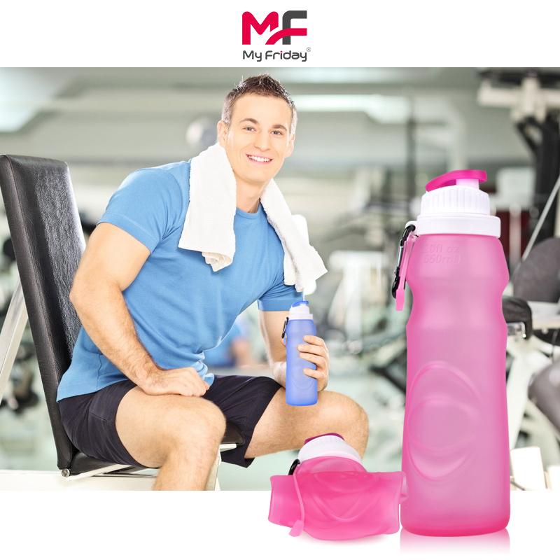 550ml collapsible water bottles