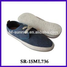 Zapatos planos de los zapatos de los hombres de los zapatos del nuevo modelo los zapatos de lona de China