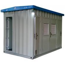 Tipo móvil de sistema de control de correa en contenedor