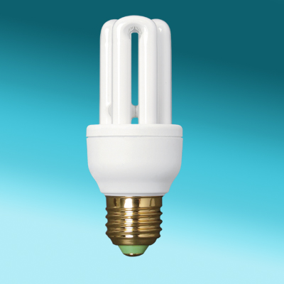 3U CFL energy saving light bulb