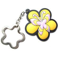 Porte-clés pvc pour promotion, cadeau, sacs et vente en gros
