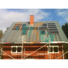 Solar Support Structure for Home Roof