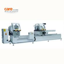 LJZ2--450X3700 PVC/UPVC Window  and Door Making Machine Double head  Mitre Cutting Saw Machine