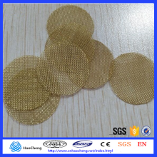 Reusable Brass /Titanium / Stainless Steel Wire Mesh Smoking Pipe Screen for Tobacco